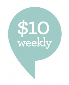 $10 weekly